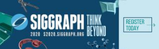 SIGGRAPH 2020 Register Today